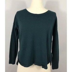 Madewell Green Merino Wool Northlight Sweater-S